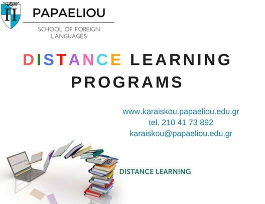 SPECIAL DISTANCE LEARNING PROGRAMS.2